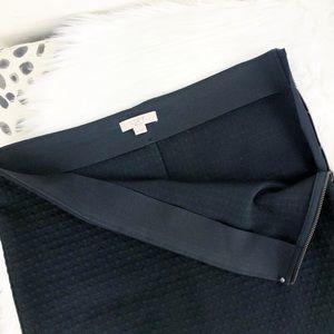 LOFT Textured Pencil Skirt